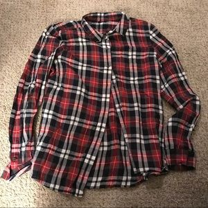 Plaid button down by Madewell